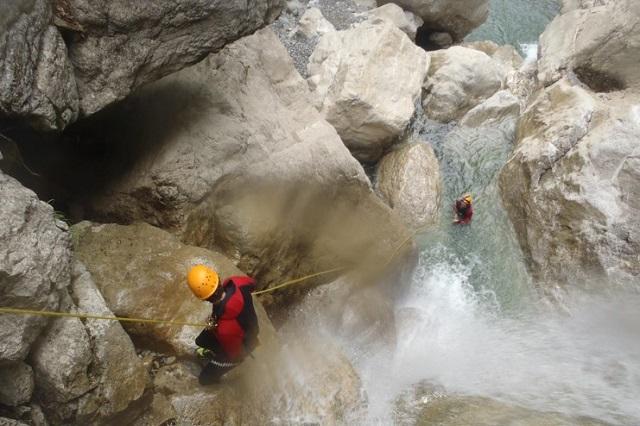 Canyoning Allgäu Schwarzwasserbach (6)