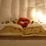 Iglu-Übernachtung in Jungholz (Allgäu/Tirol) alternativ auch im Romantik-Iglu