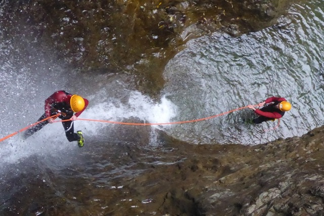 Canyoning Allgäu Schwarzwasserbach (11)