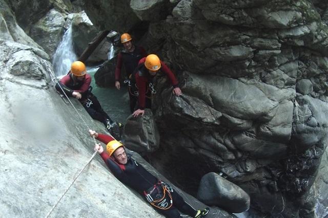 Canyoning Allgäu Schwarzwasserbach (2)