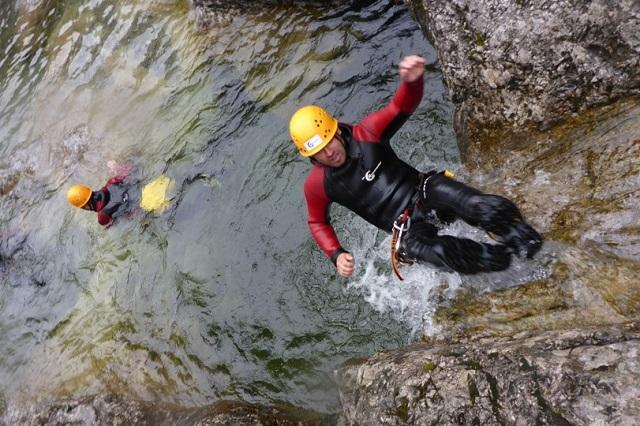 Canyoning Allgäu Schwarzwasserbach (9)