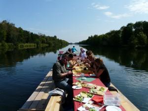 Floßfahrt & Bootspartie auf der Iller bei Kempten (Allgäu) oder Donau bei Ulm